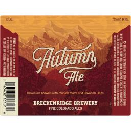 FALL: Ale: Breckenridge, Autumn Ale
