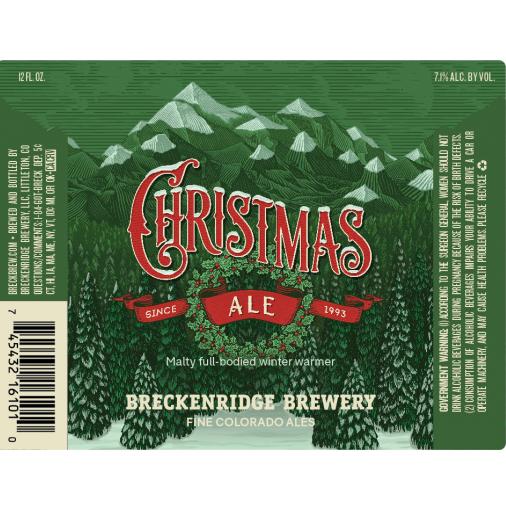 WINTER: Ale: Breckenridge, Christmas Ale