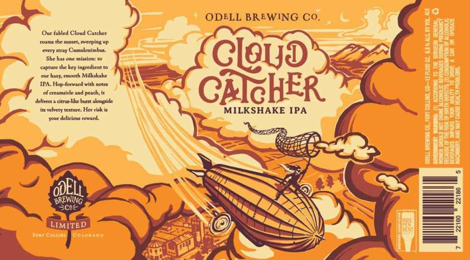 FALL/WINTER: IPA: Odell, Cloud Catcher