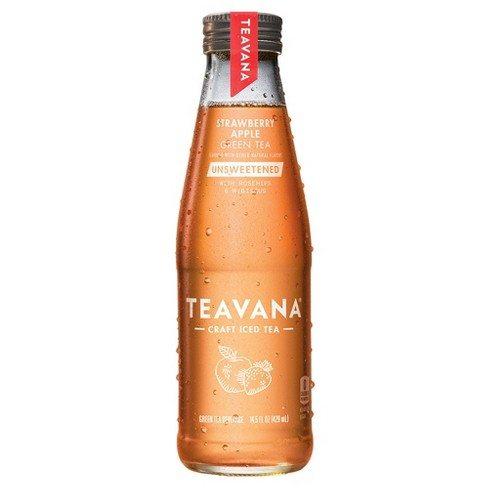 Teavana, Unsweetened Strawberry Apple Green Tea