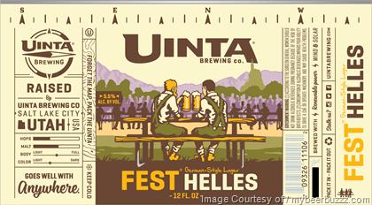 FALL: Lager: Uinta, Fest Helles