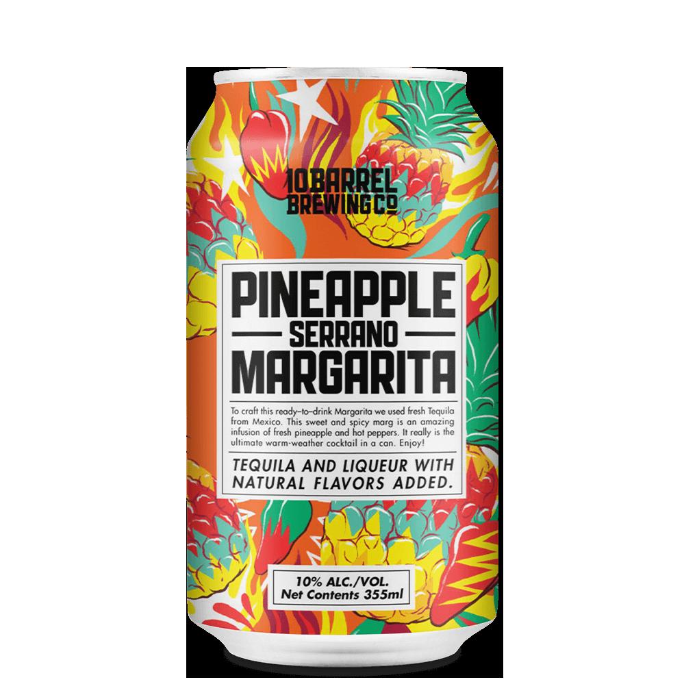 10 Barrel Brewing, Pinapple Serrano Margarita