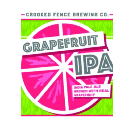 Crooked Fence, Grapefruit IPA