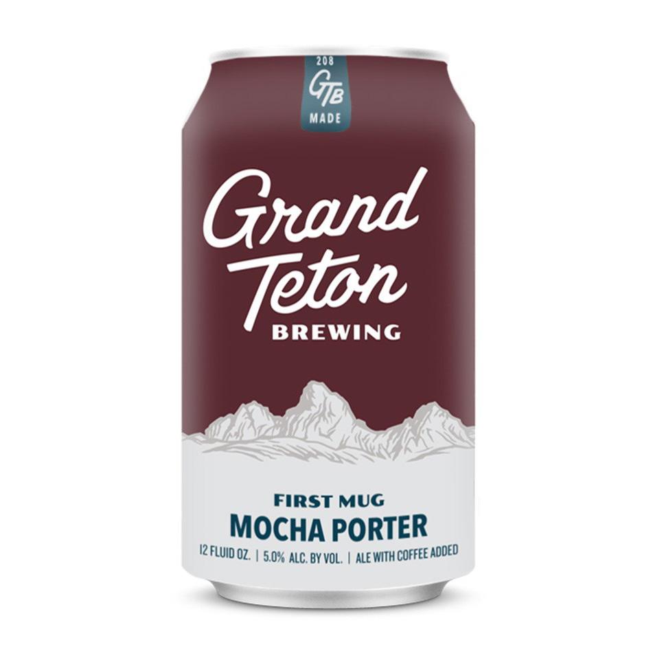 Winter:Porter: Grand Teton, First Mug Porter