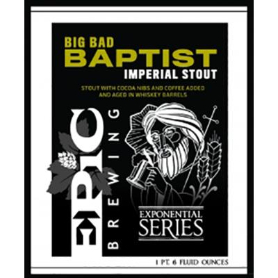 Winter: STOUT, Epic, Big Bad Baptist