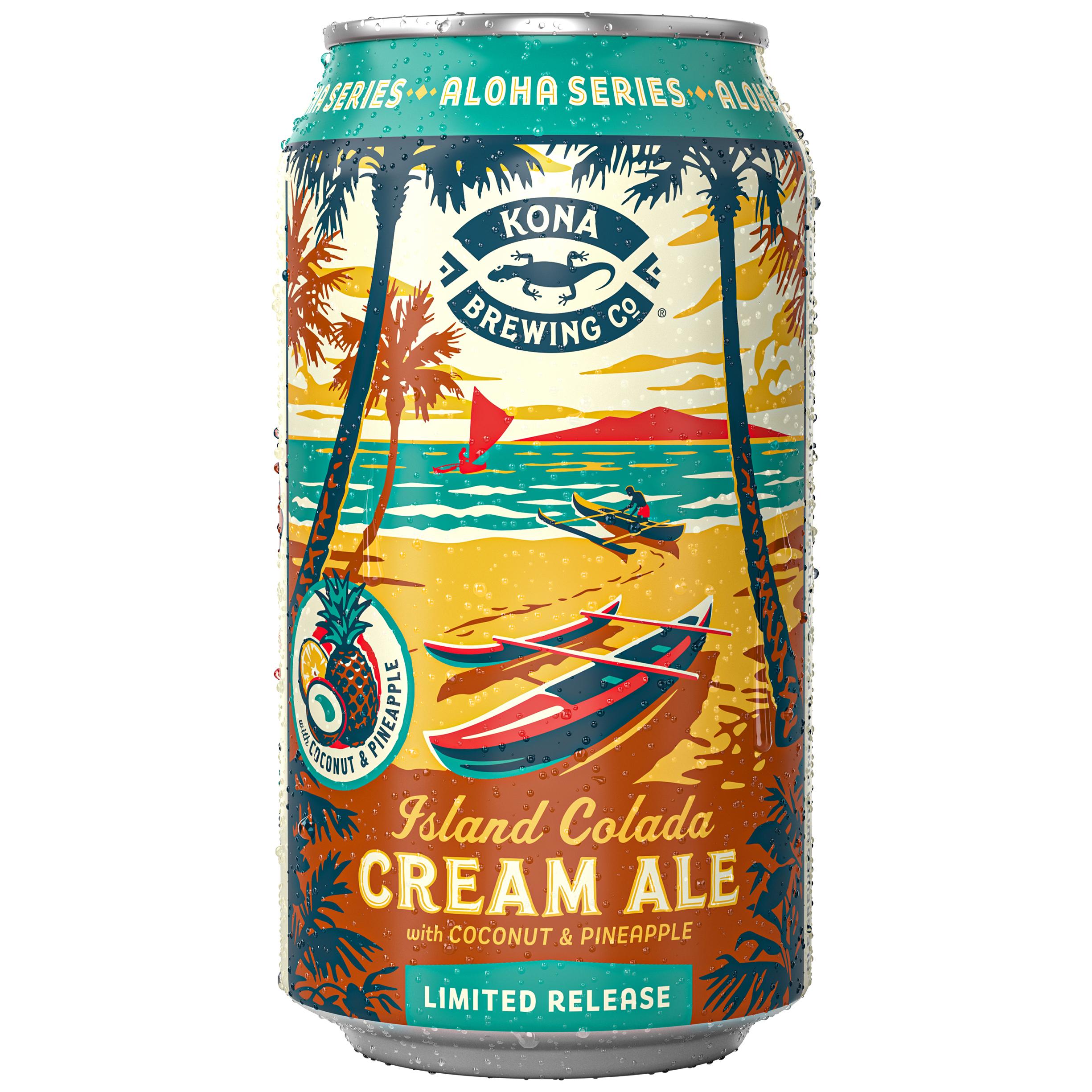 SPRING: Ale: Kona, Island Colada Cream Ale