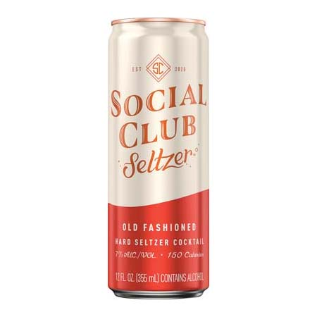 Social Club Seltzer, Old Fashioned