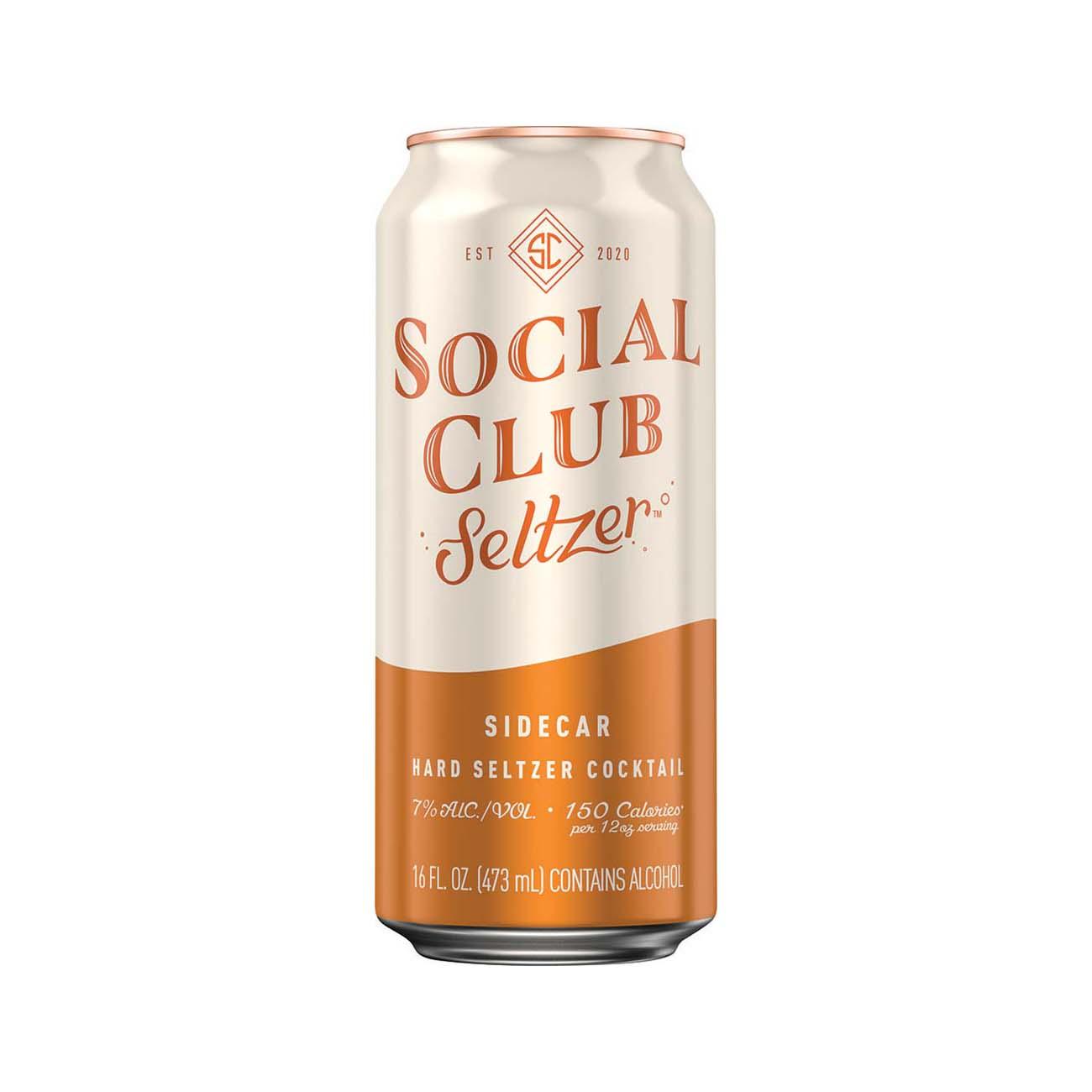 Social Club Seltzer, Side Car