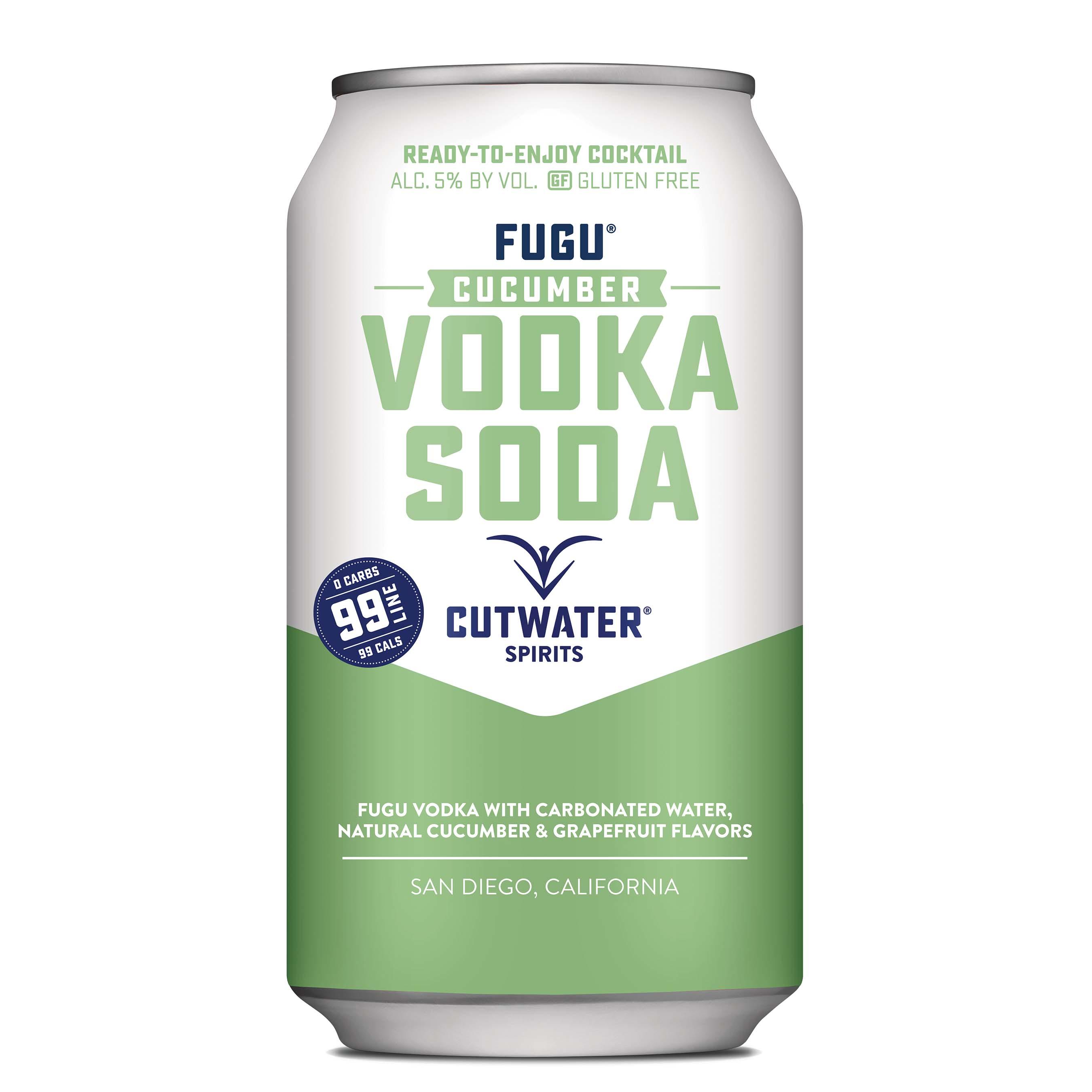 Cutwater, Cucumber Vodka Soda
