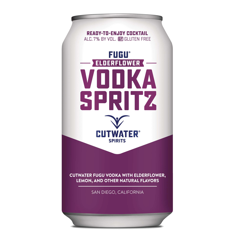 Cutwater, Elderflower Vodka Spritz