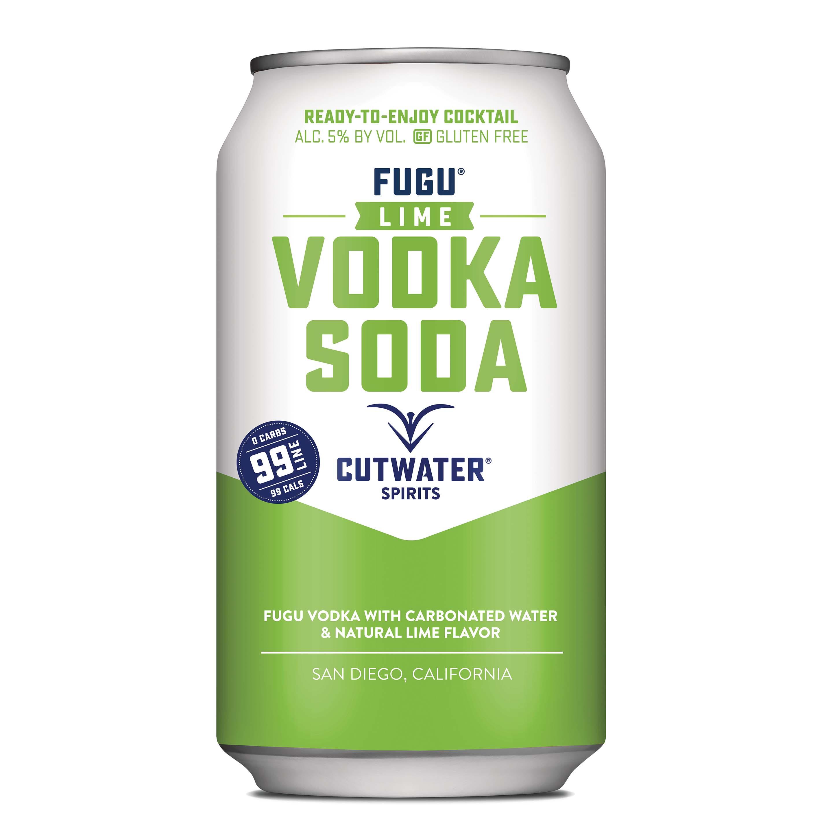 Cutwater, Lime Vodka Soda