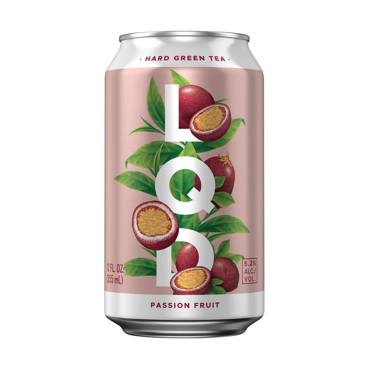 LQD, Hard Green Tea, Passion Fruit