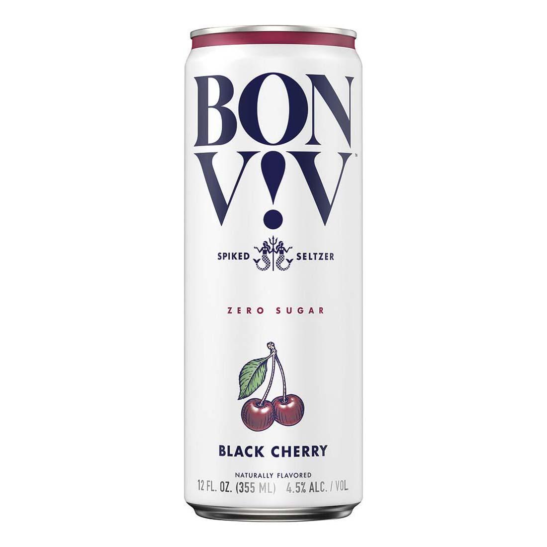 Bon & Viv Spiked Seltzer, Black Cherry