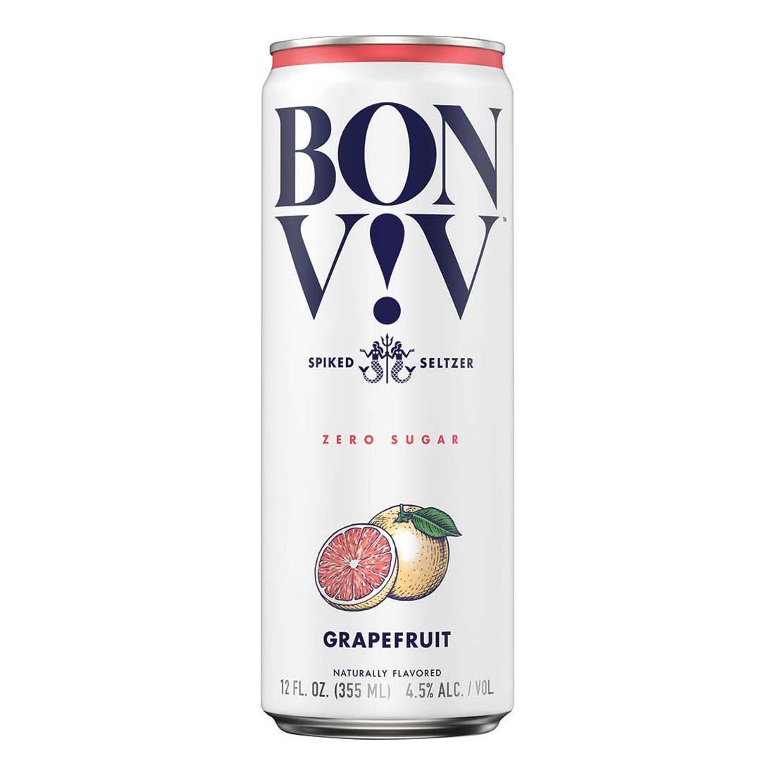 Bon & Viv Spiked Seltzer, Grapefruit