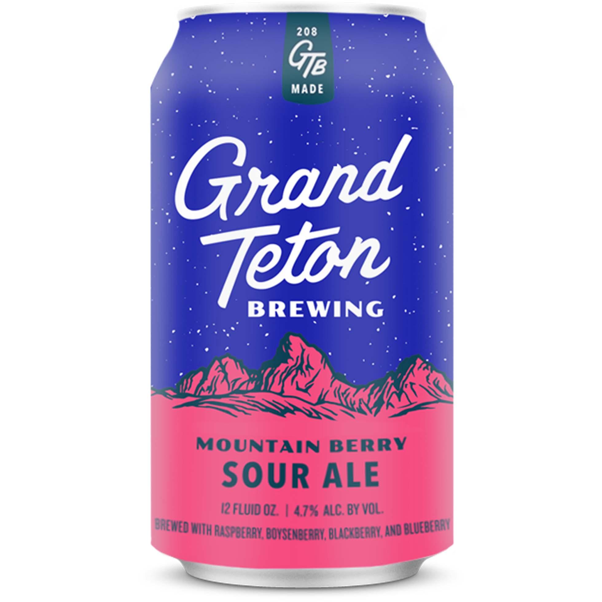 SUMMER: Sour: Grand Teton, Mountain Berry