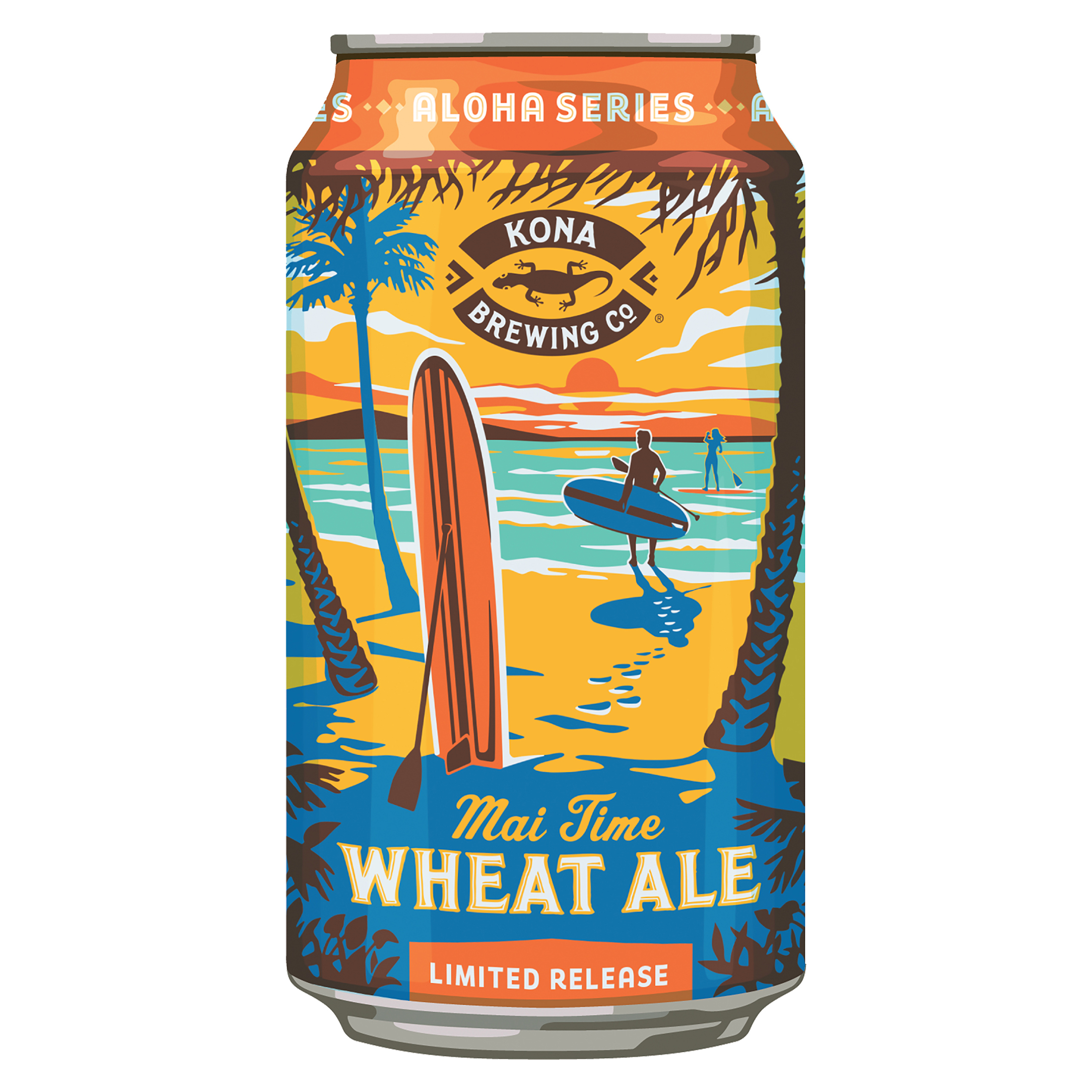 SUMMER: Wheat Ale: Kona, Mai Time