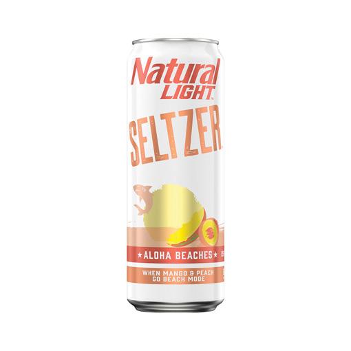 Natural Light Seltzer, Aloha Beaches