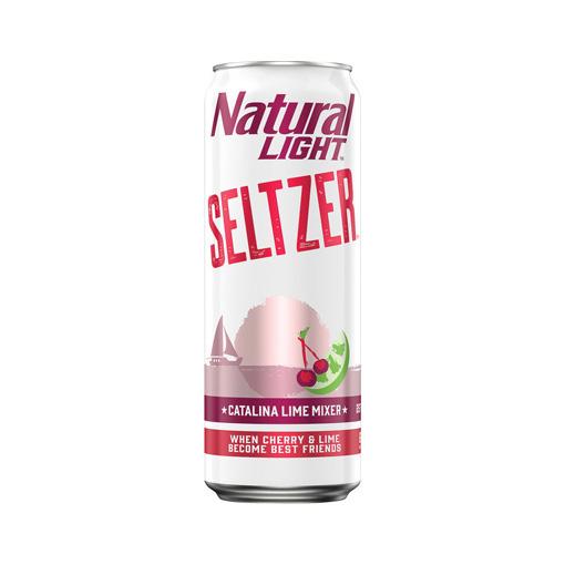 Natural Light Seltzer, Catalina Lime Mixer