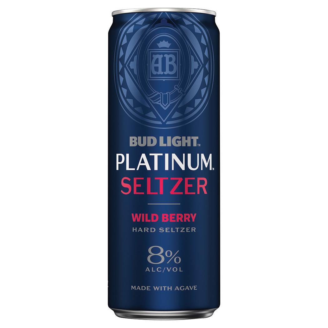 Bud Light Platinum Seltzer, Wild Berry