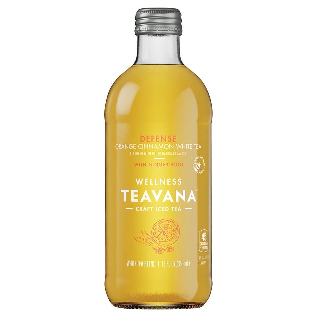 Teavana, Orange Cinnamon White Tea