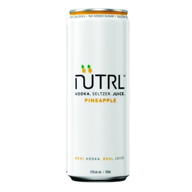 Nutrl, Pineapple Vodka Soda