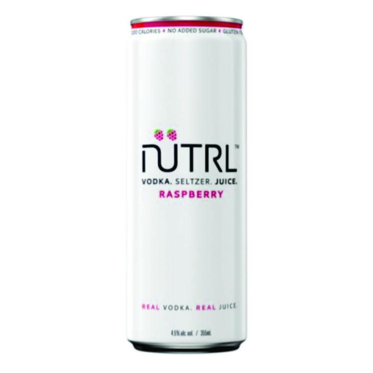 Nutrl, Raspberry Vodka Soda