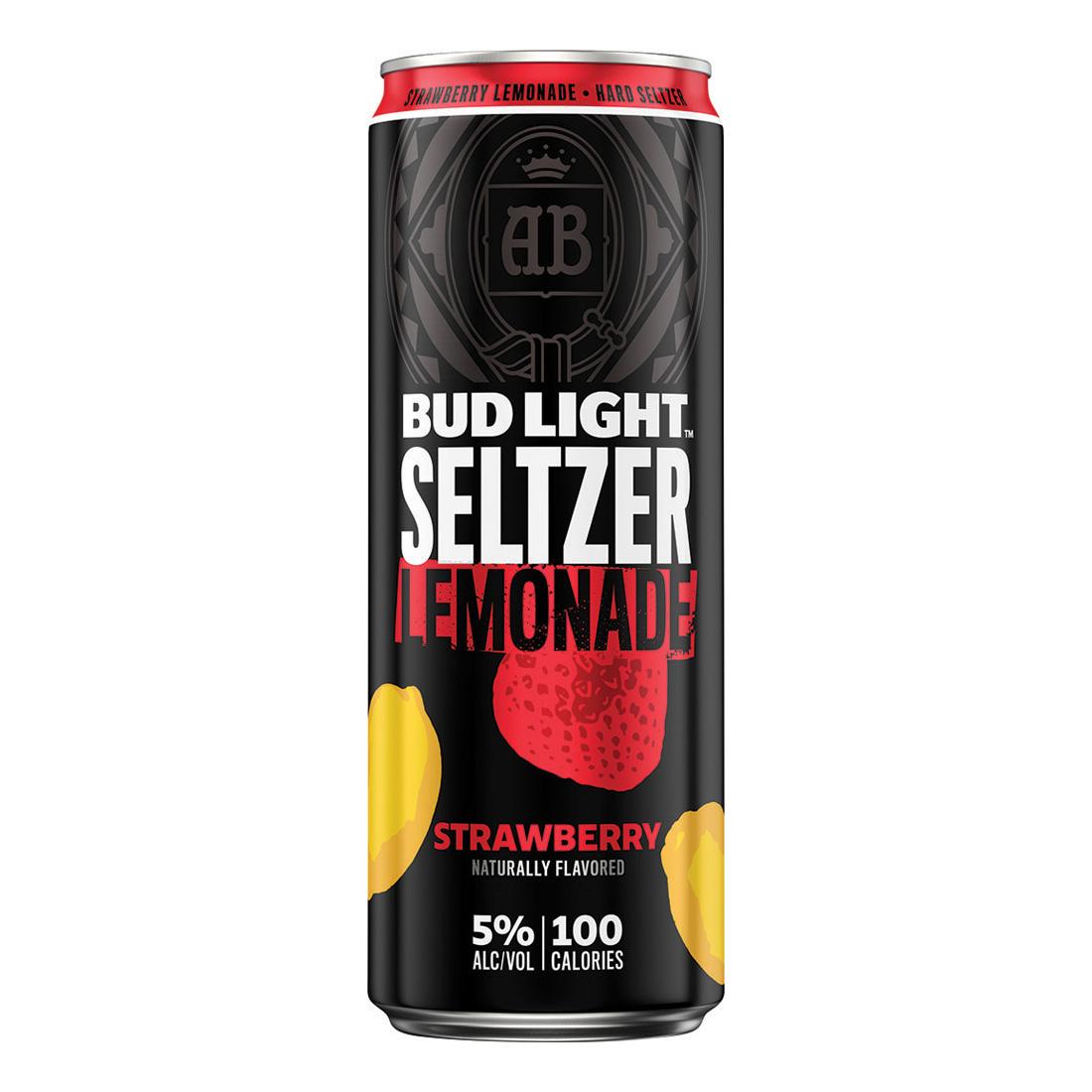 Bud Light Seltzer, Strawberry Lemonade
