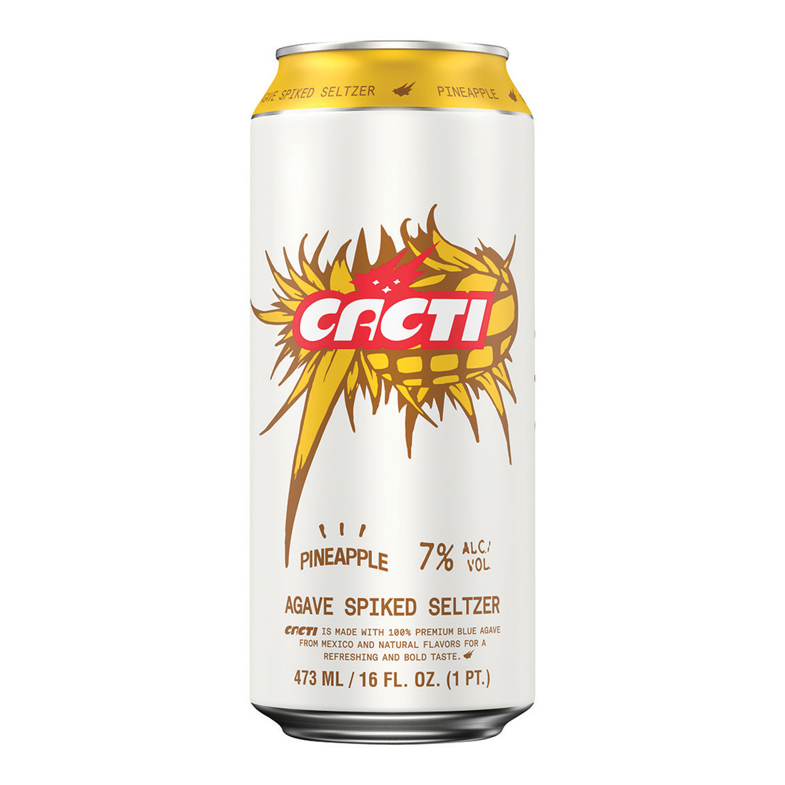 Cacti, Pineapple Seltzer