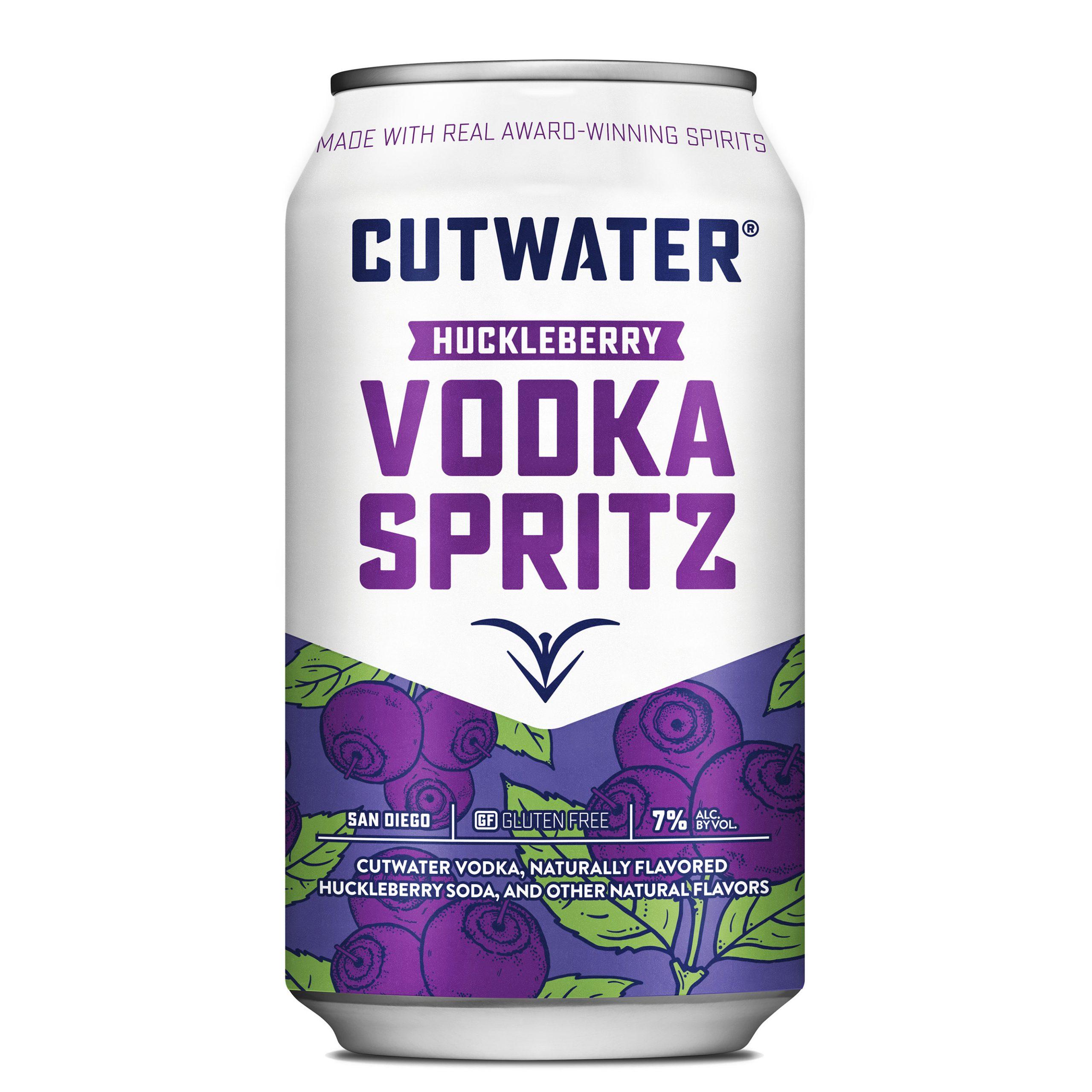 Cutwater, Huckleberry Vodka Spritz